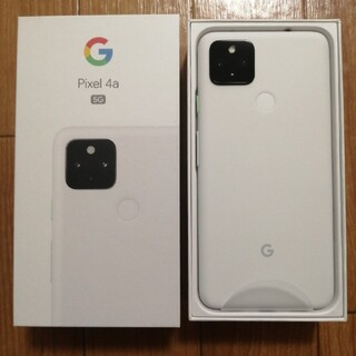 Google Pixel - Google pixel 4a (5G) Clearly White