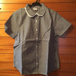 chambre de charme - ギンガムチェックシャツ