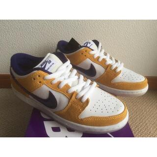 NIKE SB DUNK LOW PRO LASER ORANGE 25.5cm(スニーカー)