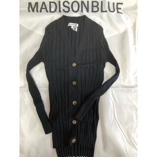 MADISONBLUE - マディソンブルー2018ssカシミヤ混アンサンブルニット