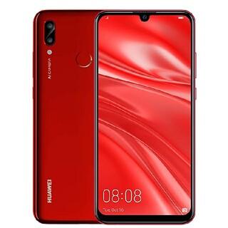 ファーウェイ(HUAWEI)のHUAWEI nova lite 3 レッド 32 GB SIMフリー(スマートフォン本体)