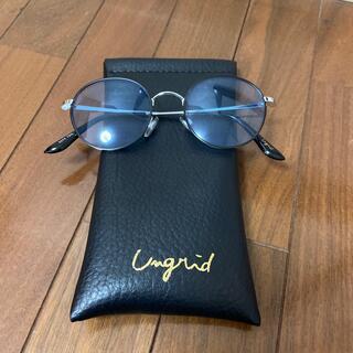 アングリッド(Ungrid)のUngridカラーサングラス(青)(サングラス/メガネ)