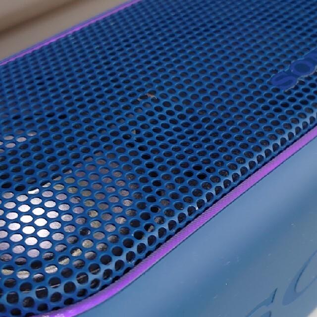 SONY(ソニー)のSONY SRS-XB40ブルー 本体と充電器のみ スマホ/家電/カメラのオーディオ機器(スピーカー)の商品写真
