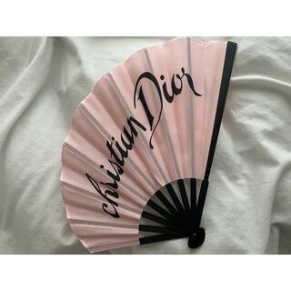Dior - ディオール ノベルティ 扇子