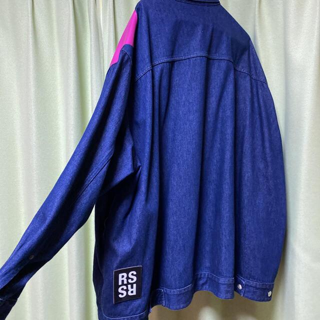 RAF SIMONS(ラフシモンズ)のKSさま専用 RAFSIMONSデニムジャケット メンズのジャケット/アウター(Gジャン/デニムジャケット)の商品写真