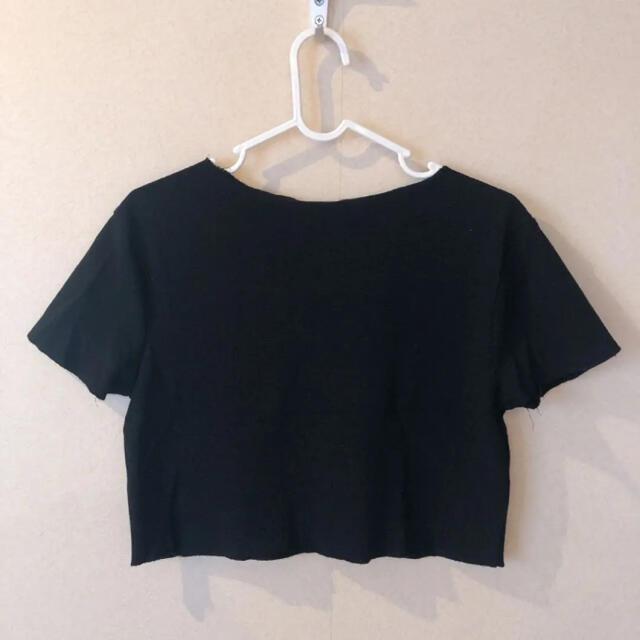 ZARA(ザラ)のZARA クロップドトップス レディースのトップス(Tシャツ(半袖/袖なし))の商品写真