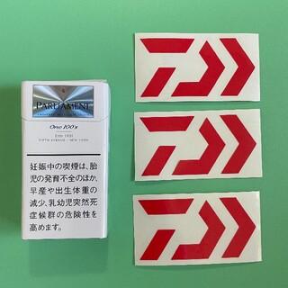 ダイワ(DAIWA)のDAIWA ダイワ 切り文字ステッカー 防水仕様 アースカラー カスタム(その他)