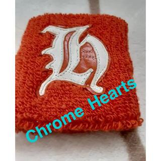 クロムハーツ(Chrome Hearts)の超希少★美品★クロムハーツ☆氷室京介 限定★リストバンド☆h★オレンジ(バングル/リストバンド)