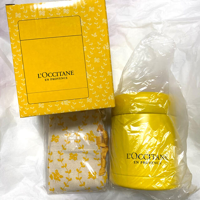 L'OCCITANE(ロクシタン)の新品 ロクシタン スープジャー コスメ/美容のボディケア(ハンドクリーム)の商品写真