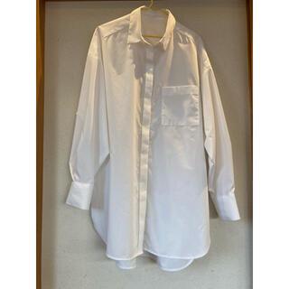 GU - 【GU】オーバーサイズロングシャツ
