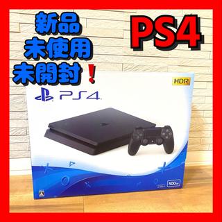 PlayStation4 - 新品未開封 PlayStation4 本体 ブラックCUH-2200AB01