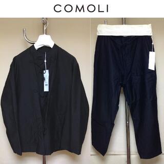 COMOLI - 新品 comoli 20ss ステンドカラージャケットセットアップ