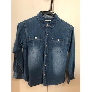 GU - 【最終値下げ】子供服 GU  デニムシャツ 130センチ