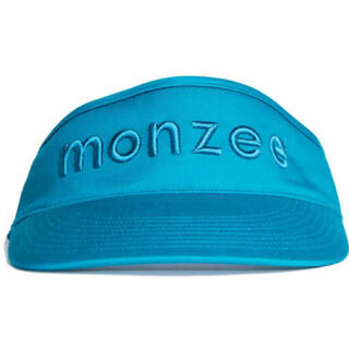 パーリーゲイツ(PEARLY GATES)のmonzee モンジー ゴルフウェア サンバイザー 新品(サンバイザー)