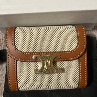 セリーヌ(celine)のセリーヌトリオンフ三つ折り財布(財布)