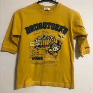 ドラッグストアーズ(drug store's)のdrug store's shop 子供服 130size 5分袖(Tシャツ/カットソー)