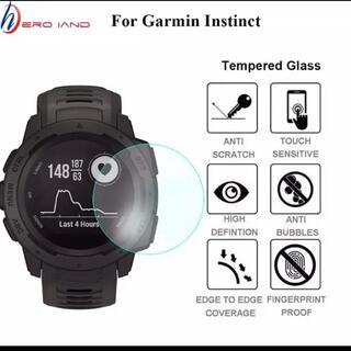 ガーミン(GARMIN)のGARMIN instinct、instinct DualPowe 保護フィルム(ランニング/ジョギング)