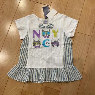 アナスイミニ(ANNA SUI mini)の新品未使用 アナスイミニ 猫 Tシャツ 110(Tシャツ/カットソー)