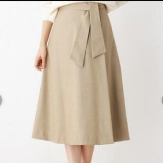 オペークドットクリップ(OPAQUE.CLIP)のフレアスカート(ひざ丈スカート)