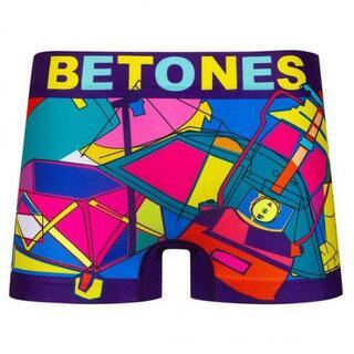 BETONES ビトーンズ【GO CAMPING】ボクサーパンツ フリーサイズ(サーフィン)