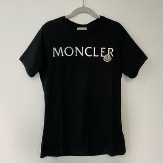 MONCLER - モンクレール レディースXS フロントロゴTシャツ ブラック