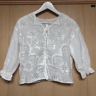 Discoat - ★Discoat 2wayブラウス 刺繍★