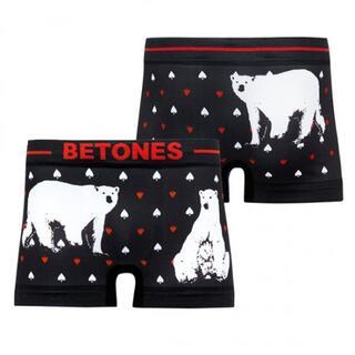 BETONES ビトーンズ【ANIMAL4シロクマ】ボクサーパンツ フリーサイズ(サーフィン)