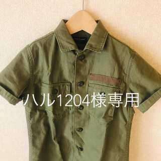 バックナンバー(BACK NUMBER)のキッズ ミリタリーシャツ 120cm(Tシャツ/カットソー)