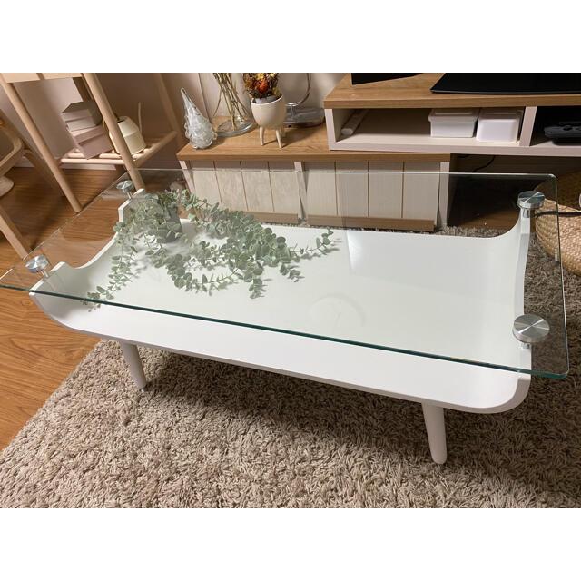 ニトリ(ニトリ)の韓国風インテリア リビングテーブル インテリア/住まい/日用品の机/テーブル(ローテーブル)の商品写真
