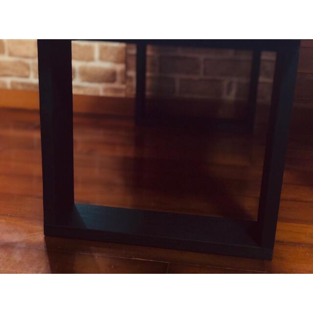 木製 ローテーブル  おしゃれ空間 スタイリッシュ センターテーブル  シンプル インテリア/住まい/日用品の机/テーブル(ローテーブル)の商品写真