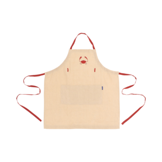 CRAB EMBRIODERED LINEN APRON(その他)