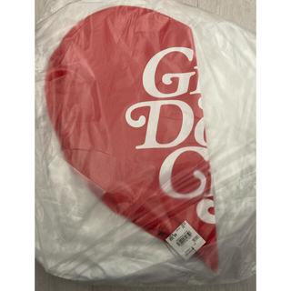 ジーディーシー(GDC)のGirls don't cry ピロー クッション 赤(クッション)