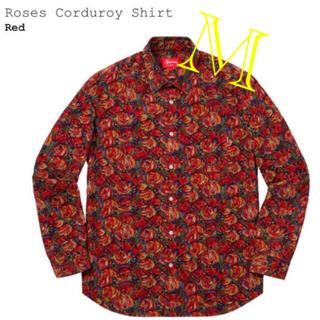 Supreme - Supreme Roses Corduroy Shirt