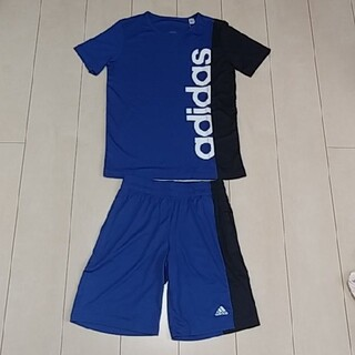 adidas - アディダス ハーフパンツ Tシャツ セット キッズ ジュニア 150 新品