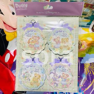 ダッフィー - 新商品☆ メモ 4個セット ダッフィー スプリングインブルーム ディズニー
