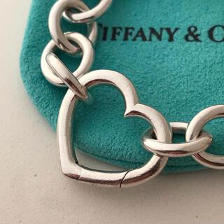 Tiffany & Co. - Tiffany ラウンドリンク ハートクラスプ ブレスレット