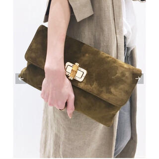 L'Appartement DEUXIEME CLASSE - Sandra Roberts Banboo Clutch Bag バッグ