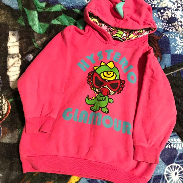 HYSTERIC MINI(ヒステリックミニ)のヒスミニ  ミニラパーカー キッズ/ベビー/マタニティのキッズ服女の子用(90cm~)(Tシャツ/カットソー)の商品写真