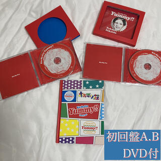 Kis-My-Ft2 - 【美品】Kis-My-Ft2 Yummy!!初回盤A.Bとブックレット