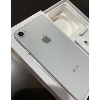 iPhone - かなり美品! iPhone8 シルバー 64GB SIMフリー