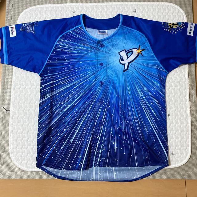横浜DeNAベイスターズ(ヨコハマディーエヌエーベイスターズ)の横浜DeNAベイスターズ スターナイトユニホーム2020 スポーツ/アウトドアの野球(ウェア)の商品写真