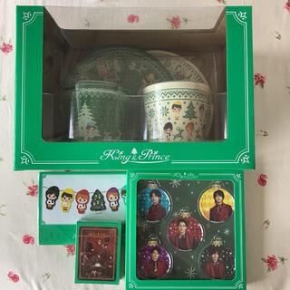 ジャニーズ(Johnny's)の新品未使用 King & Prince キンプリ クリスマス コンプリートセット(アイドルグッズ)