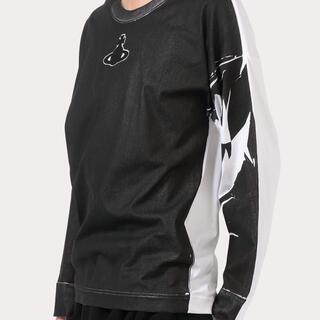 ヴィヴィアンウエストウッド(Vivienne Westwood)の【新品未使用】VivienneWestwood Man ORBパッチ長袖Tシャツ(Tシャツ/カットソー(七分/長袖))