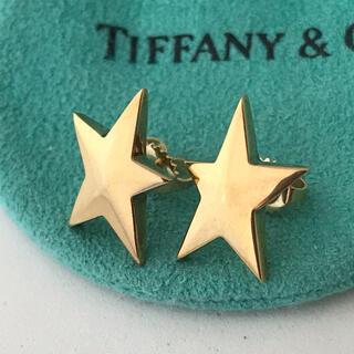 Tiffany & Co. - Tiffany  K18YG ラヴィングスター ピアス