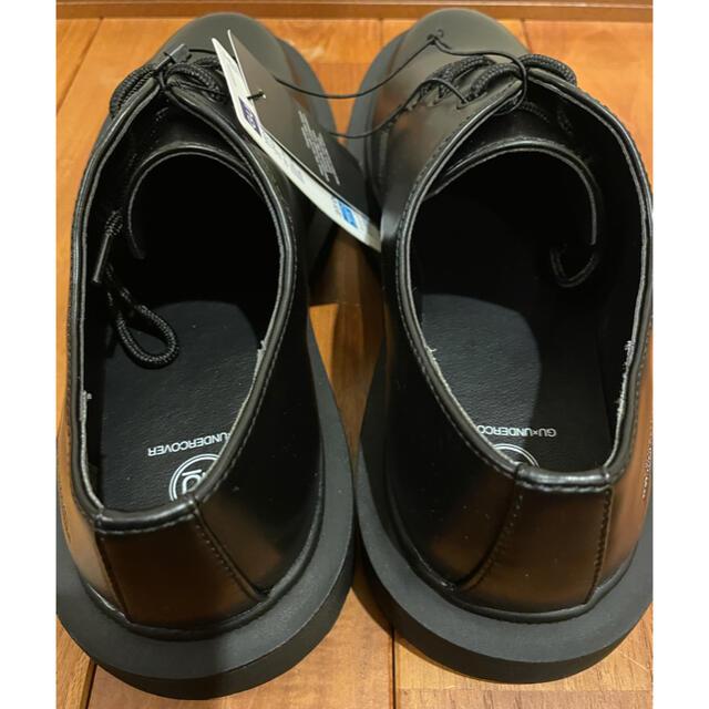 UNDERCOVER(アンダーカバー)のアンダーカバー GU undercover ラウンドトゥシューズ 新品 27㎝ メンズの靴/シューズ(ドレス/ビジネス)の商品写真