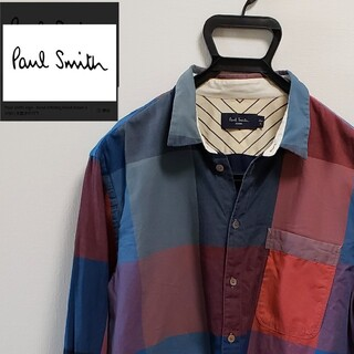 Paul Smith - Paul Smith ブロックチェック 総柄 コットン100