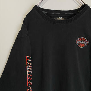 Harley Davidson - ハーレーダビッドソン HARLEY-DAVIDSON ロングTシャツ ハーレー