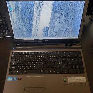 エイサー(Acer)のAcer製 高性能ノートパソコン i7&ブルーレイ&SSD(ノートPC)