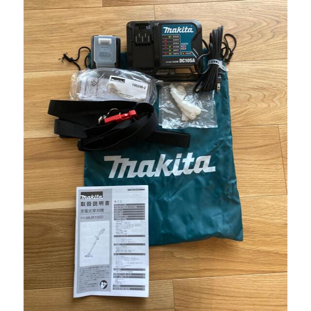 Makita(マキタ)のmakita 充電式草刈機 マキタ MUR100DSH スマホ/家電/カメラの生活家電(その他)の商品写真