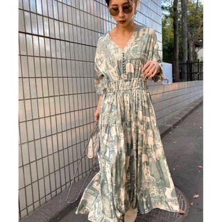 Ameri VINTAGE - Ameri VINTAGE TOWN VOLUME GATHER DRESS